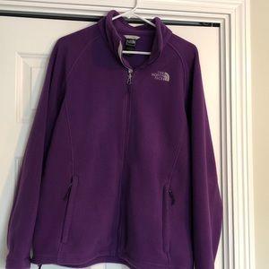 Purple Northface Fleece